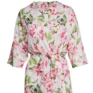 Brie Robe - Garden of Blooms - NWT